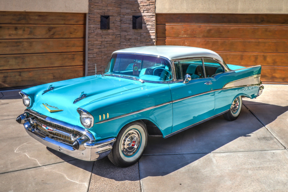 Restored 1957 Chevrolet Bel Air 2-Door Hardtop
