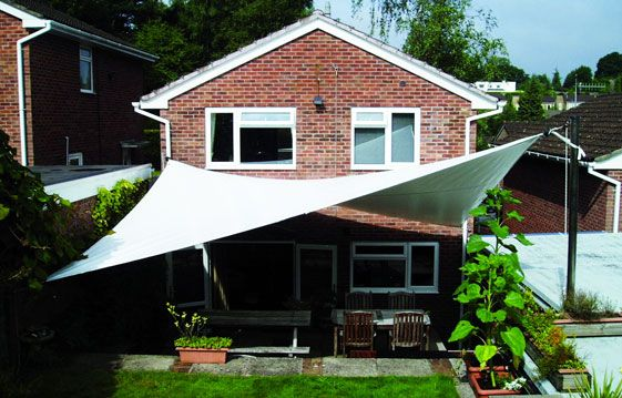 Canopy Covers - Garden shade sail & Canopy Covers - Garden shade sail | Deck Ideas | Pinterest ...