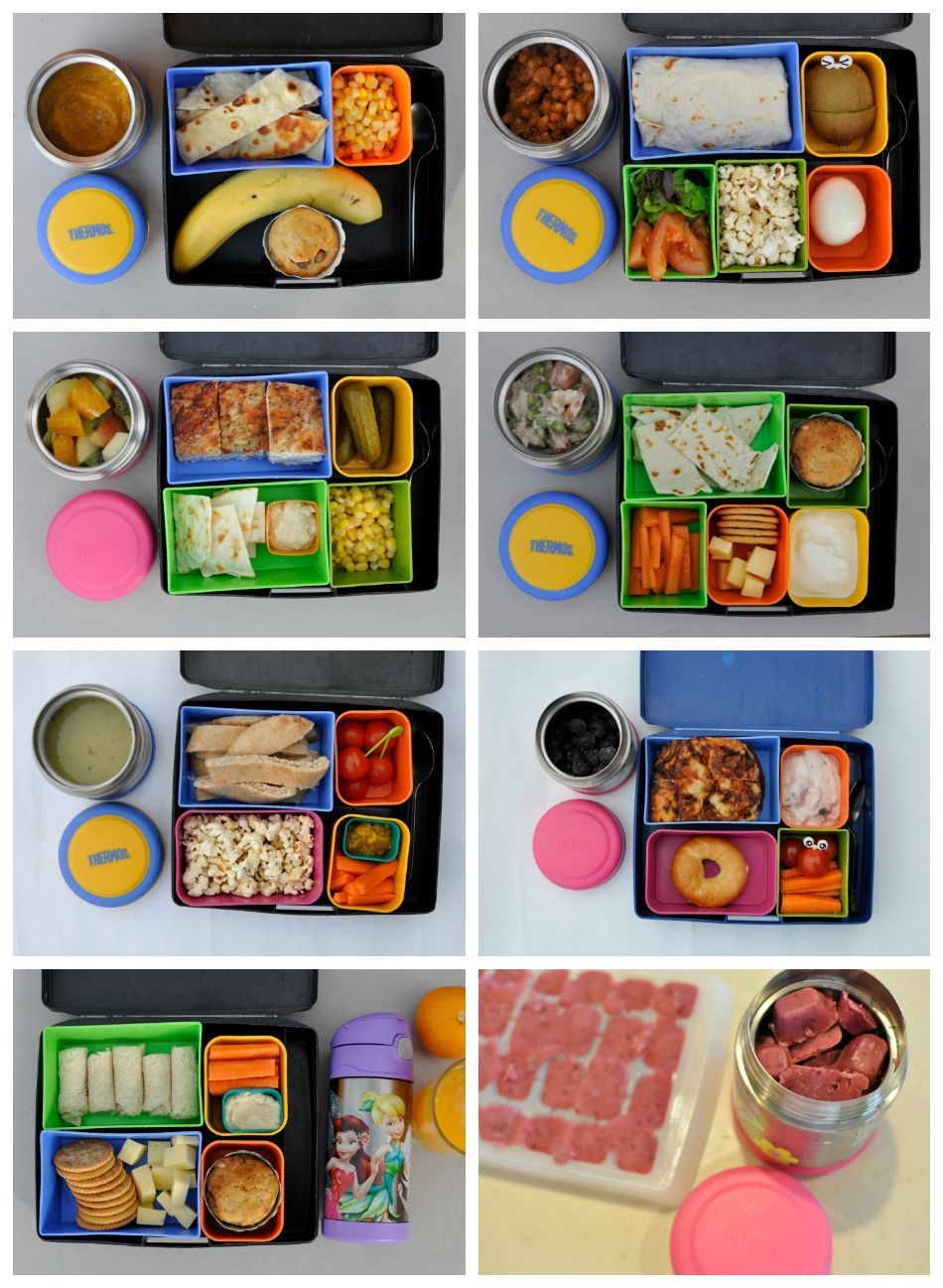 Hot / Cold lunch box food trial >