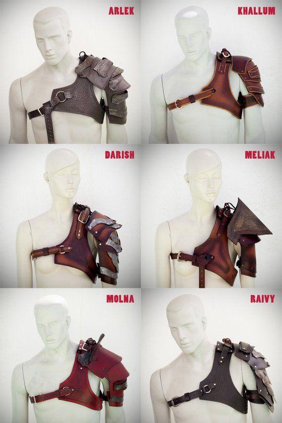 Harness Leder, Leder Brust Brust mittelalterlichen Fantasy, Barbar, Viking Gurt Harness Leder