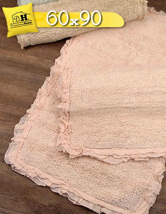 Tappeto bagno Shabby chic Rouche Boucle Collection 60x90