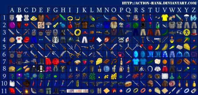 RPG Pixel Art Sprites items Sprites RPG