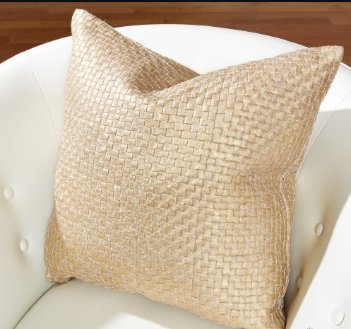 Global Views Gold Woven Digger Pillow With Images Pillows Luxury Pillows Contemporary Pillows
