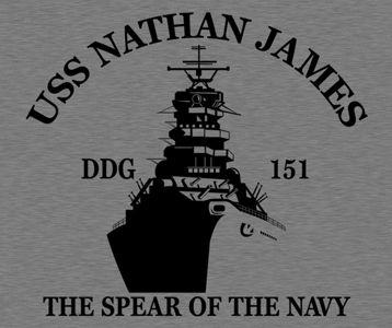 0af370c0e74df The Last Ship USS Nathan James T-Shirt