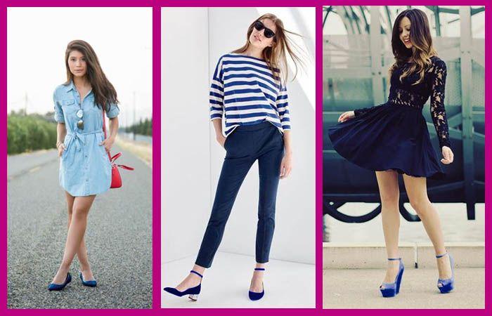 Las Mejores 23 Ideas De Zapatos Azules Outfit Como Combinar Zapatos Azules Zapatos Azules Mujer Comiendo