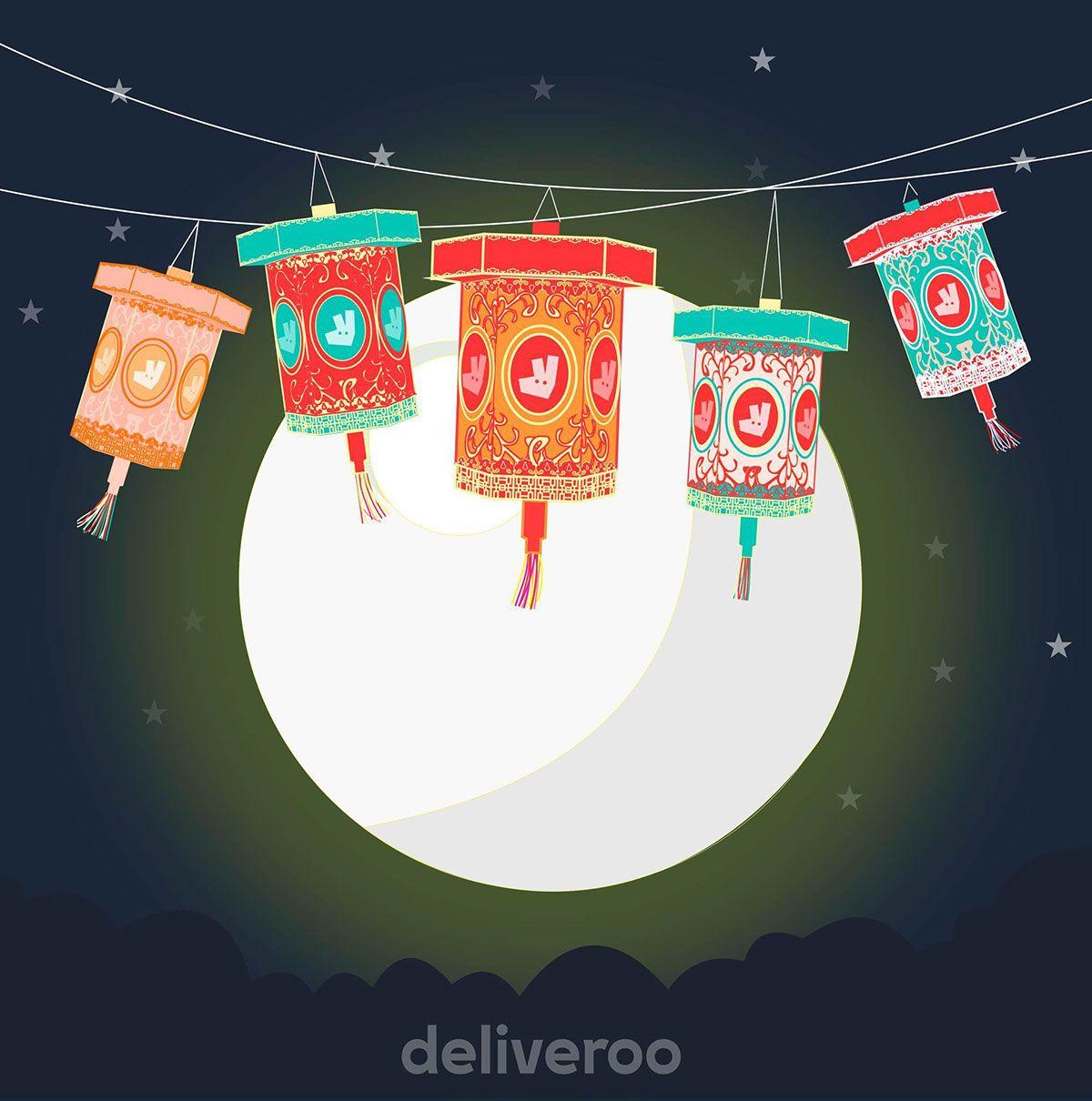 Deliveroo Hk Mid Autumn Festival Champaign On Behance