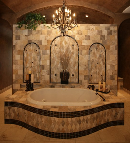 Tuscan Bathroom Design | Inspiring Tuscan Style Homes Design House Plans Rooms I Like