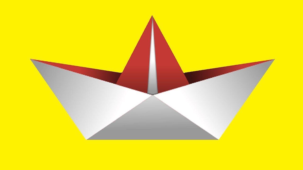 كيفية عمل سفينة بطريقة سهلة How To Make A Paper Shipboat Peace Symbol Creative Make It Yourself