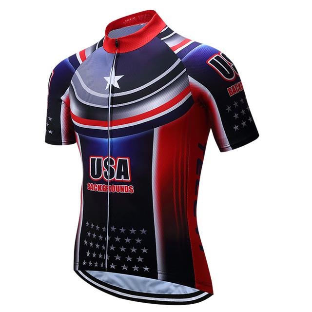 Teleyi Sport Bike Team Racing Cycling Jersey Tops Summer Bicycle Cycling  Clothing Ropa Ciclismo Breathable MTB e89ec3dad