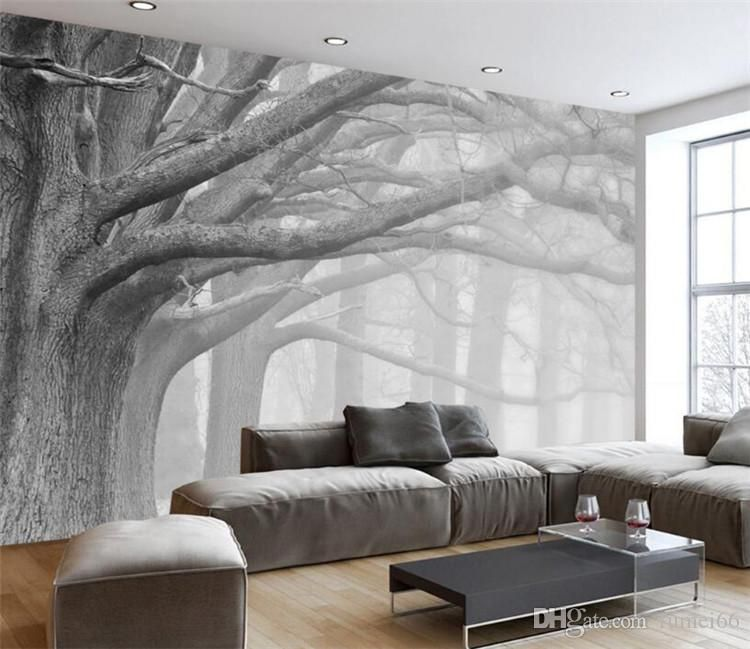 Wall Murals Modern Ideas 3d Wallpaper Living Room Tree Wallpaper Living Room Wallpaper Living Room