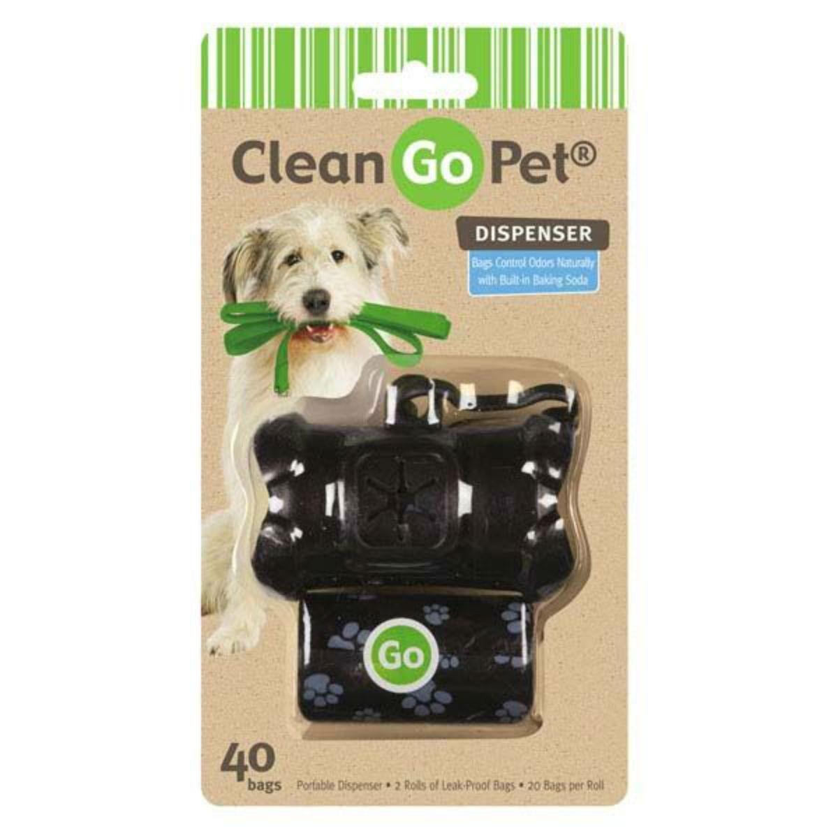 Clean Go Pet Bone Waste Bag Holders - Black at BaxterBoo.com