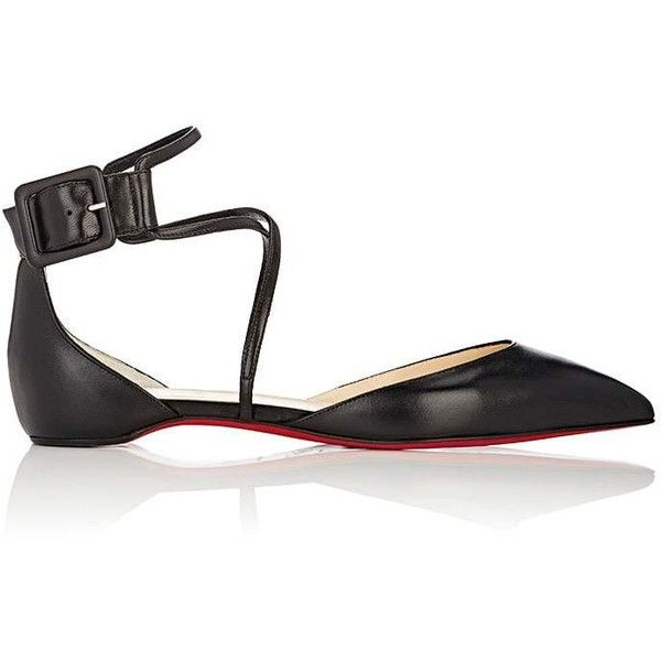 e9315cb9429 ... coupon for christian louboutin womens suzanna dorsay flats 2 715 pln  liked on polyvore featuring shoes