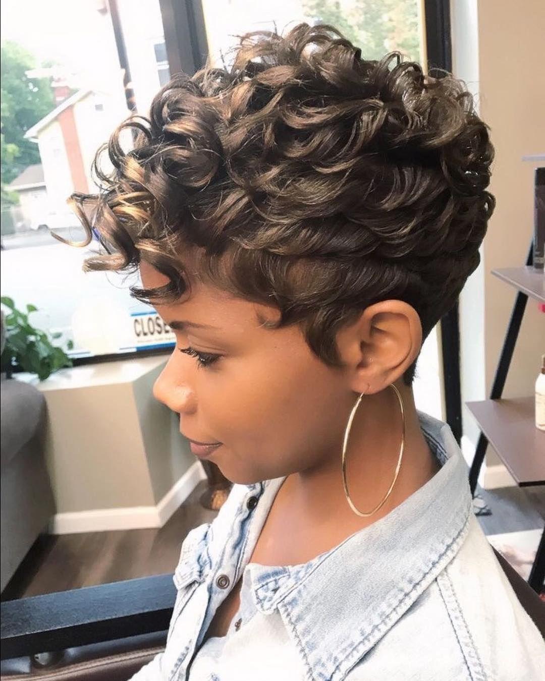 Hair inspiration short styles boujie lady pinterest hair