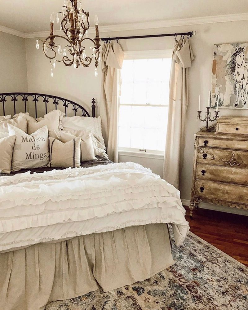 French Cottage 2019 Cottage Journal Cottage Bedroom Decor French Cottage Decor Bedroom Country Chic Bedroom