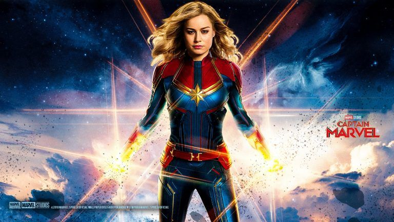 Captain Marvel Movie Wallpaper With High Resolution 1920x1080 Pixel You Can Use This Poster Wallpaper For Your D Captain Marvel Marvel Movies Movie Wallpapers