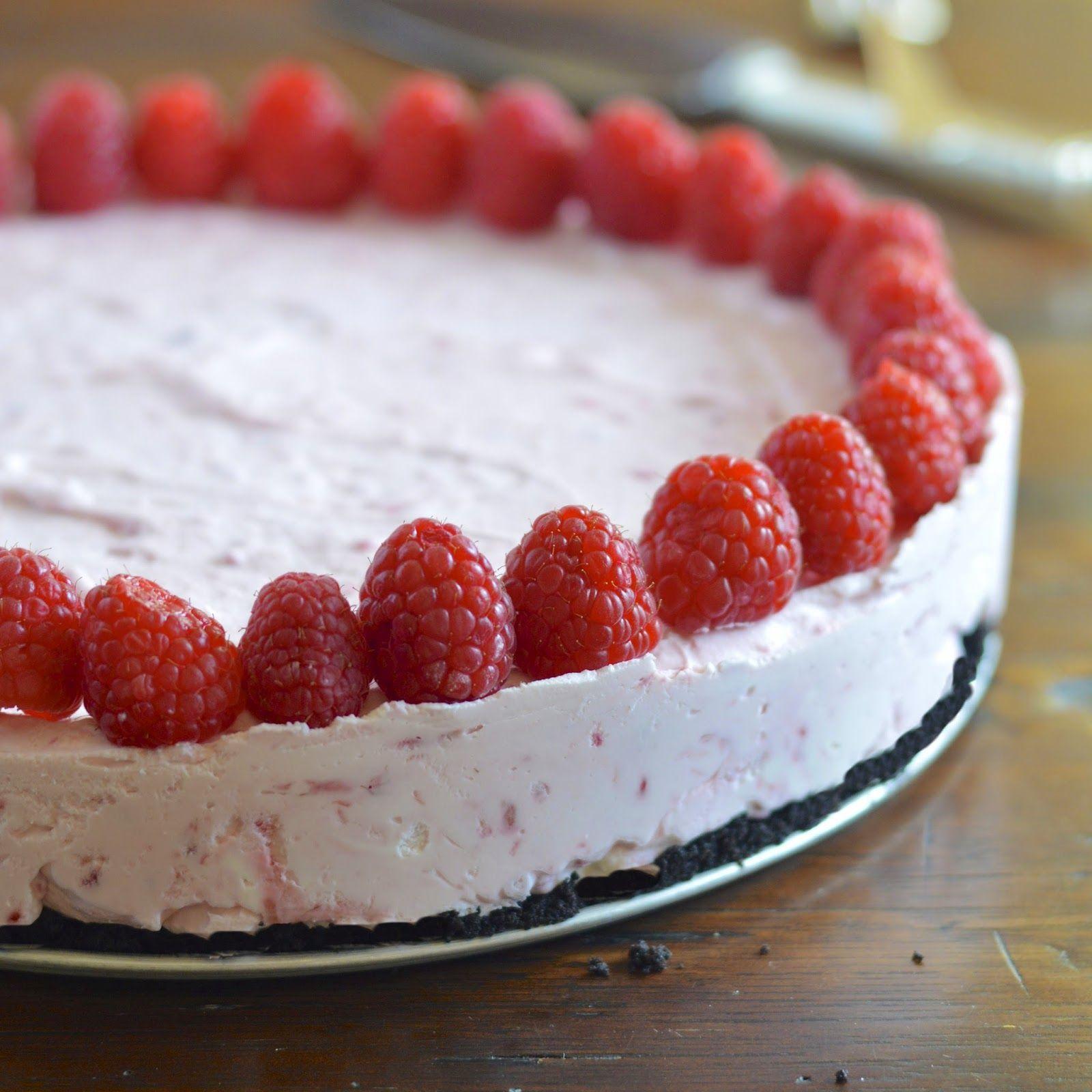 Frozen Raspberry Cheesecake Raspberry Cheesecake