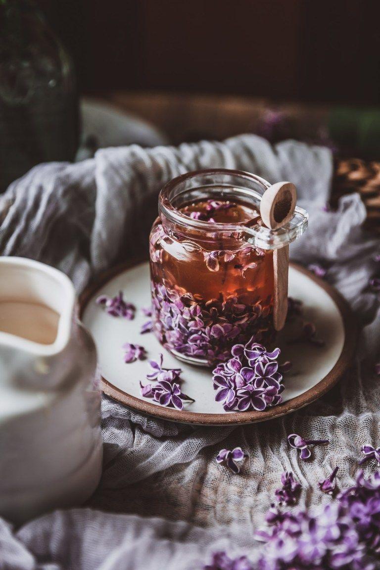 Lilac Honey Infusion Ephemeral Flower Essence Chews Local Recipe Food Photography Food Flower Essences