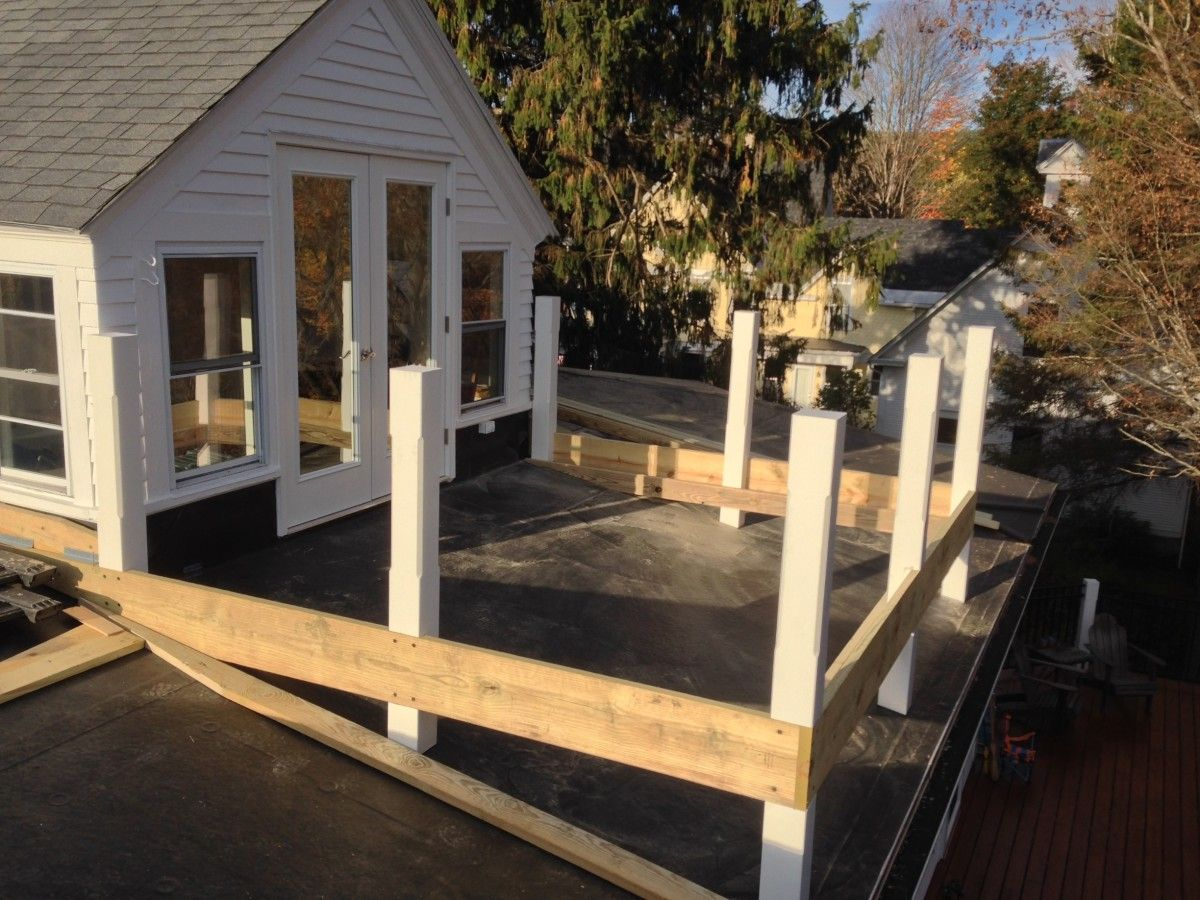 Ipe Rooftop Deck Rooftop deck, Deck, Building a house