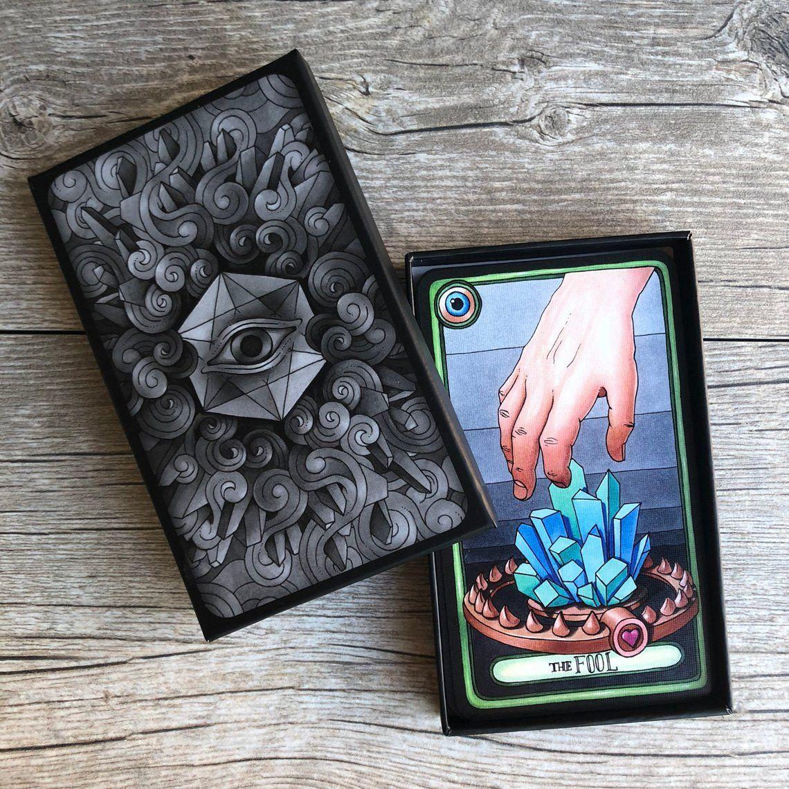 oddity tarot a 24card major arcana deck images based on