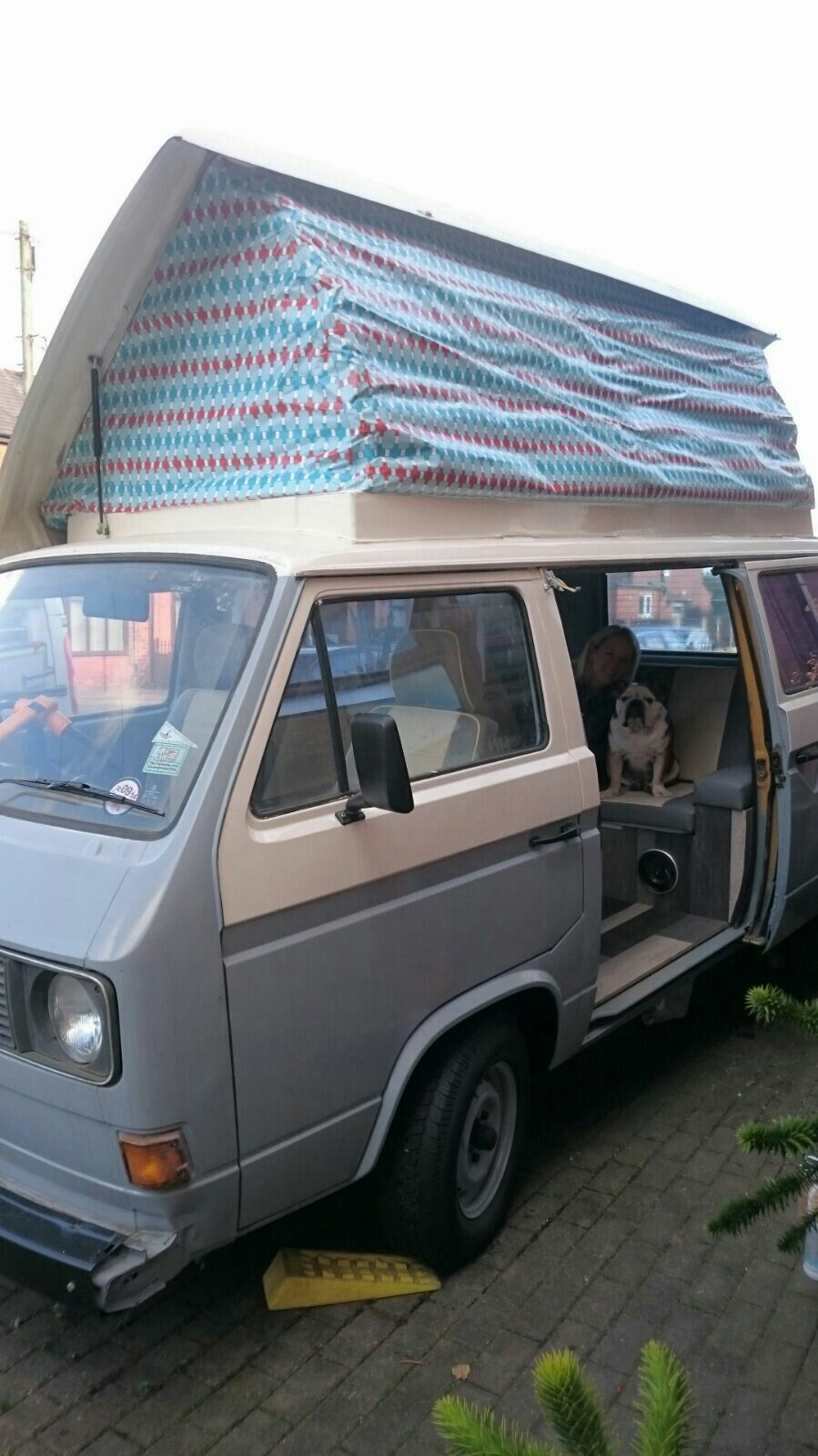 'Dolly' our refurbished vw t25