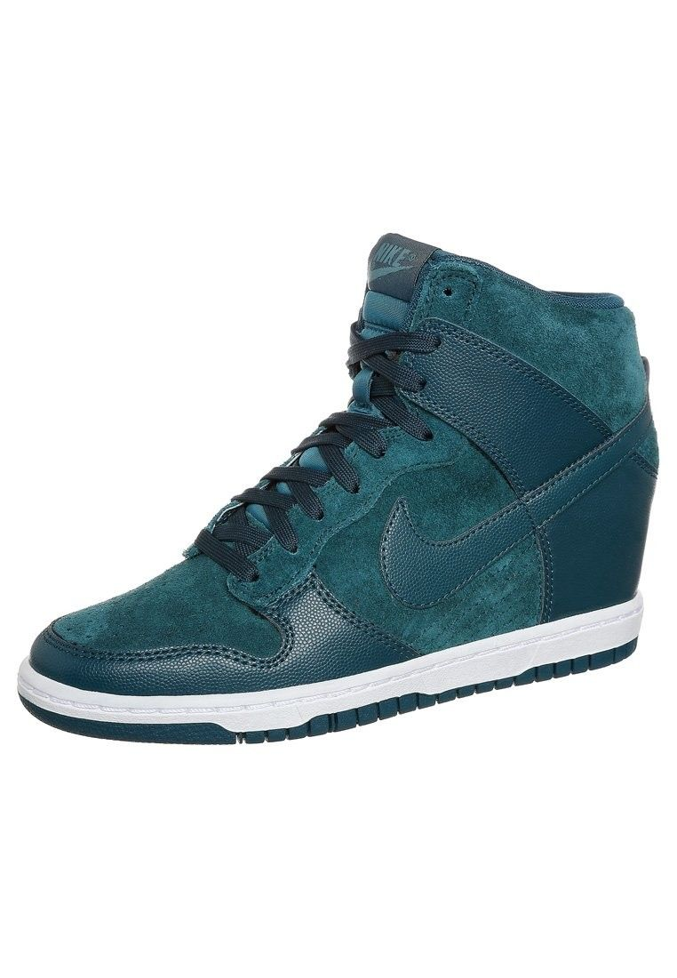 Nike Dunk Sky High Wedge essence Print Pour Femme Chaussures essence Wedge vert en eeedd0