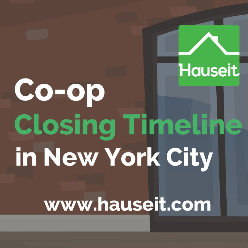 Whats the typical coop closing timeline in nyc