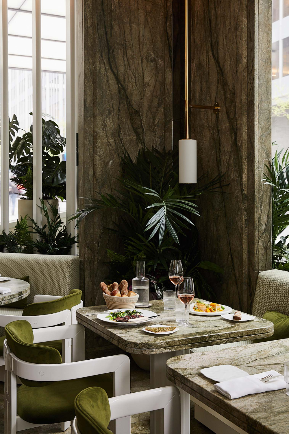 A Garden Focused Restaurant Opens in the Heart of