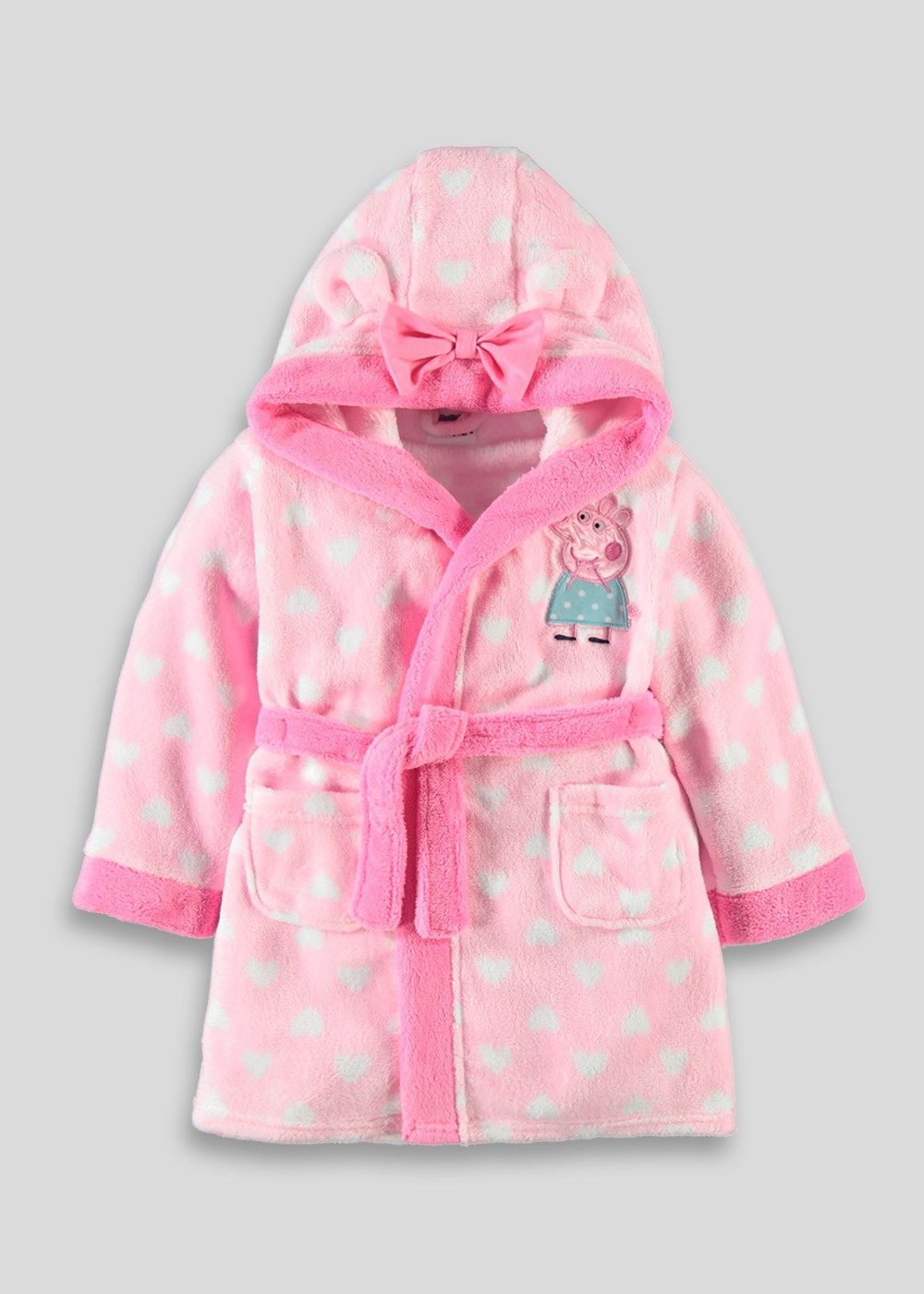 60da3aa28c8a0 Girls Peppa Pig Dressing Gown (9mths - 5yrs) by Matalan | + Macey's ...