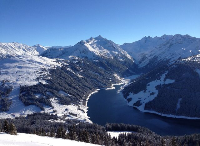 Gerlos panorama beautiful mountains