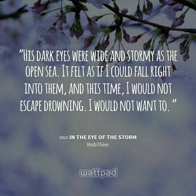 In The Eye Of The Storm By Robthier On Wattpad Storm And Silence