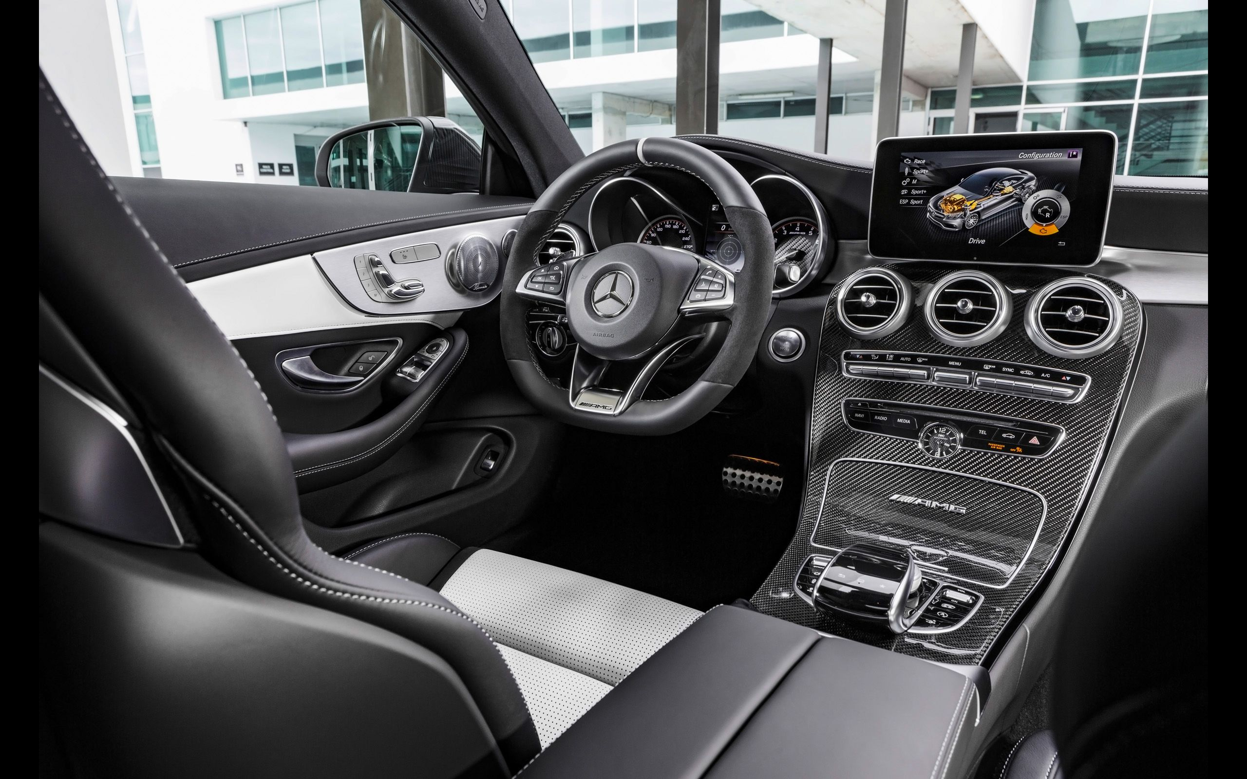 2016 Mercedes Amg C 63 S Coupe Interior With Images Mercedes