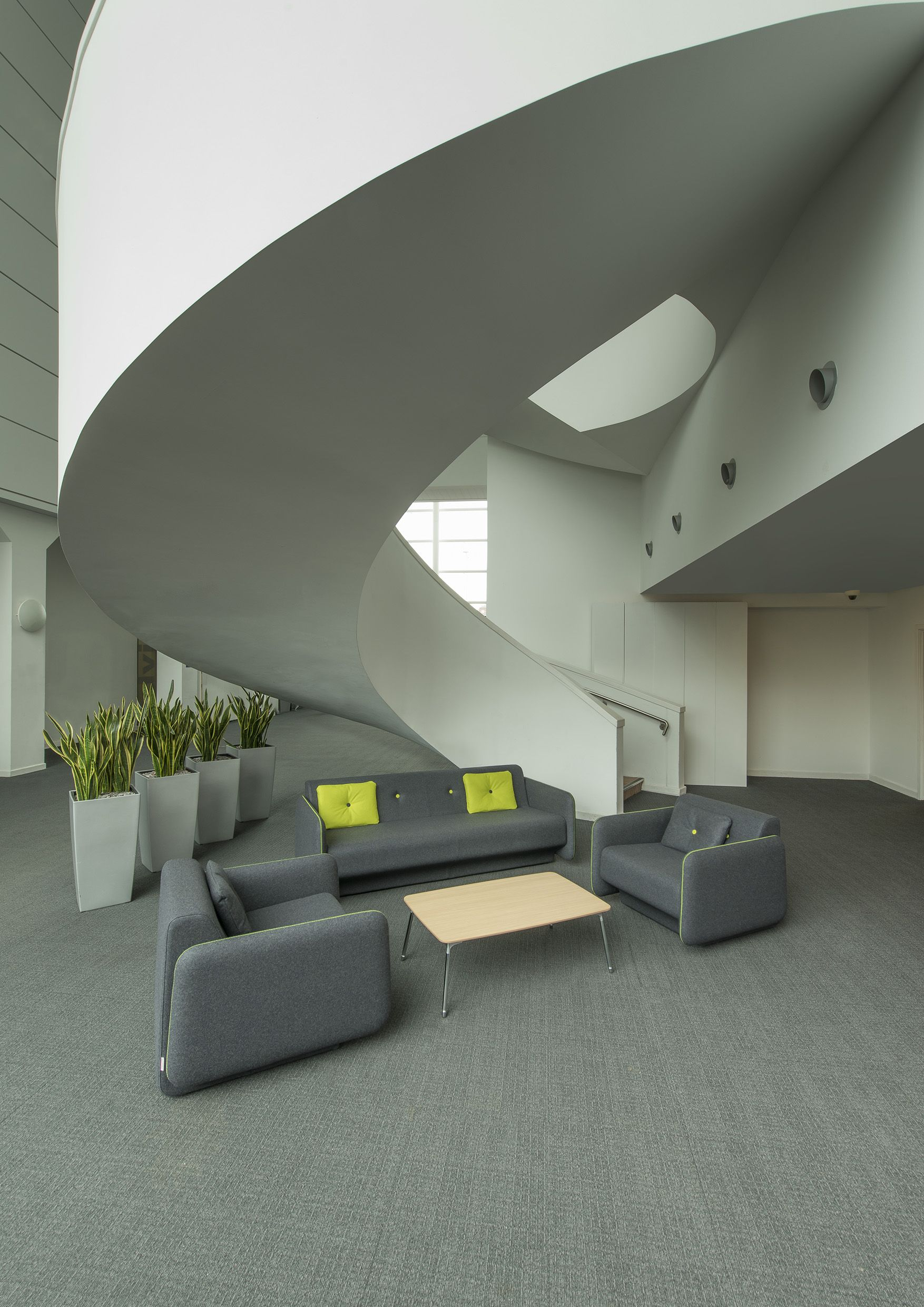 Orangebox Campus The Campus sofa system is a soft seating