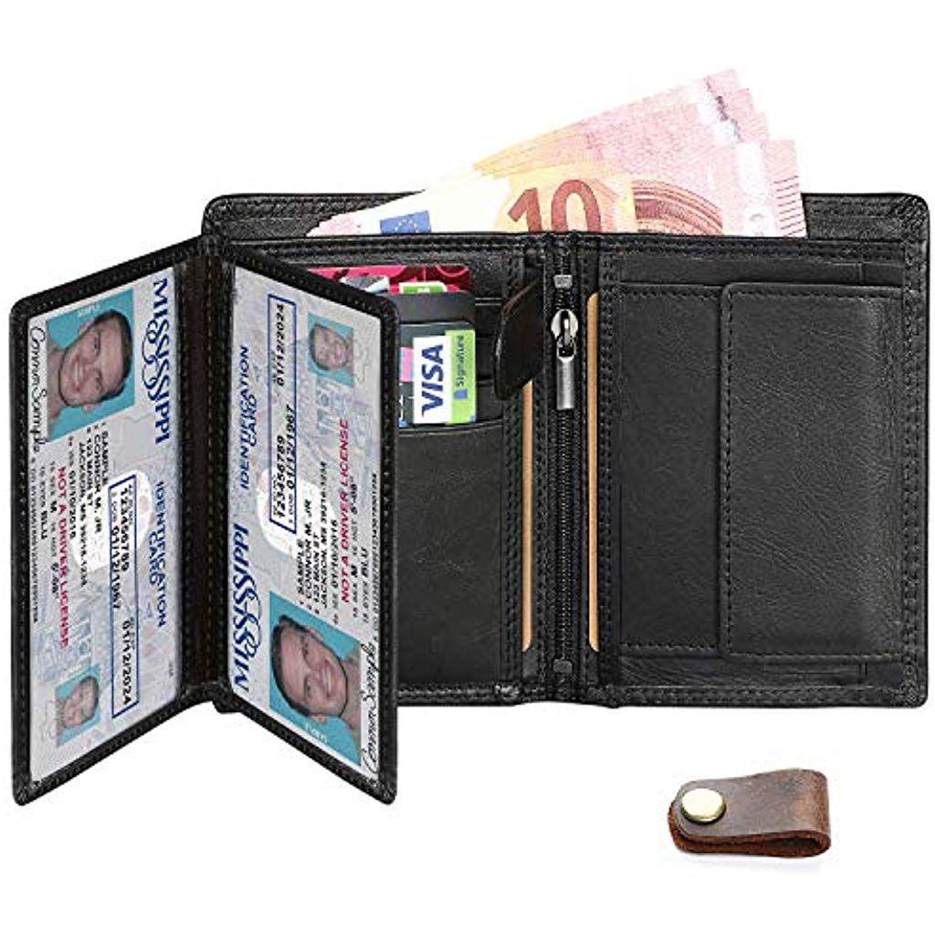 negozio online a83f9 ef75e Distinto Compatto Piccolo Con Fermasoldi Finestra ID Porta ...