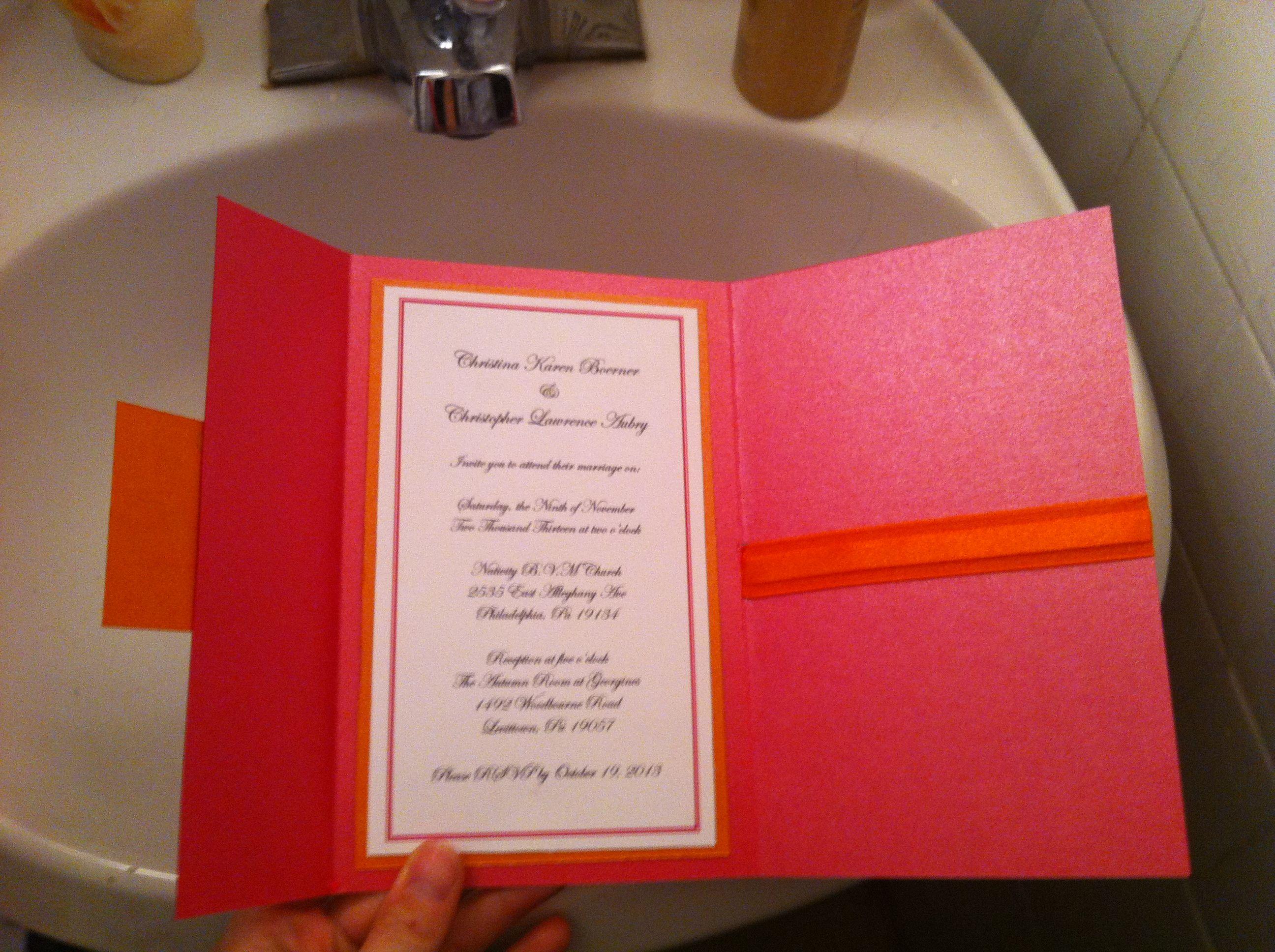 Rough draft of DIY Invites : wedding diy inspiration invitations ...