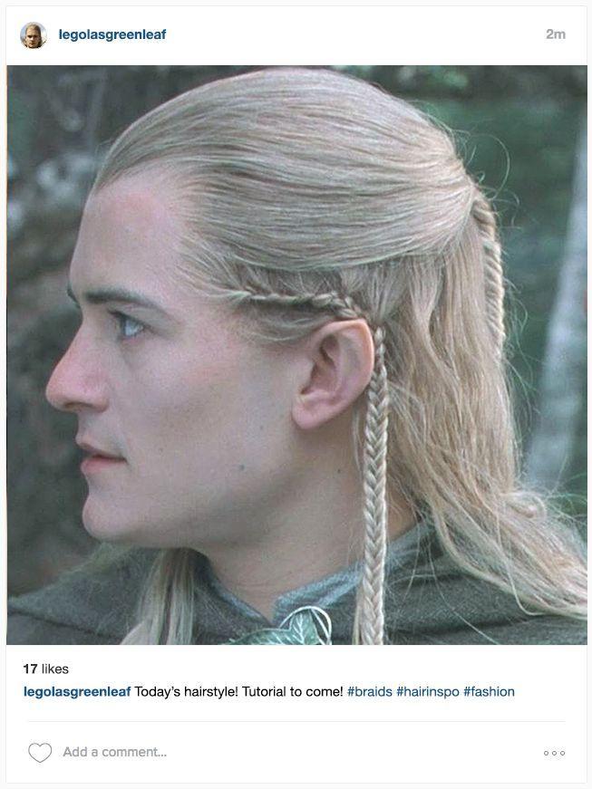If Middle Earth Had Instagram It D Look Something Like This Elven Hairstyles Elf Hair Hair Tutorial