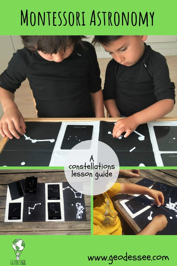 Photo of Montessori Astronomy – A constellations activity guide – Geodessee