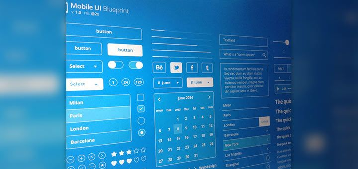 Mobile ui blueprint designer mill ux design pinterest mobile mobile ui blueprint designer mill malvernweather