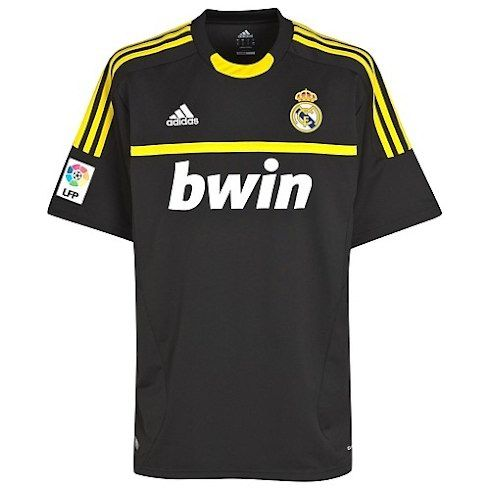 Real Madrid portero 2011 12 Away Camiseta futbol  542  - €16.87 ... e42db7a24a7f5