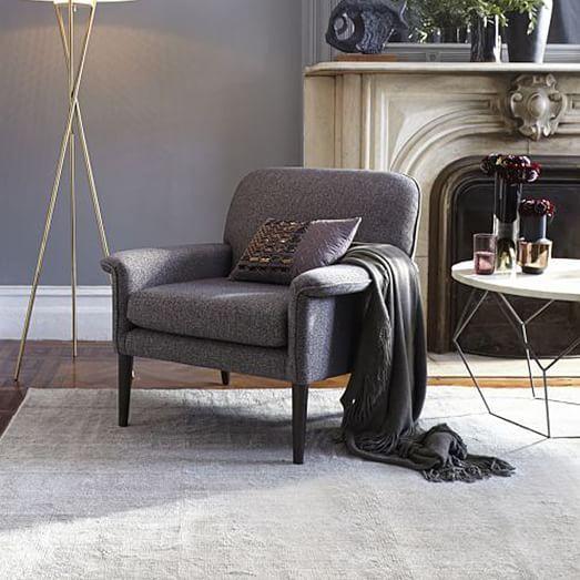 Anders Armchair West Elm Living Room Chairs Modern Furniture