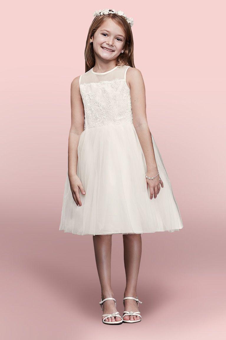 Flower Girl Dresses Davids Bridal regarding Ideas   Wedding Ideas ...