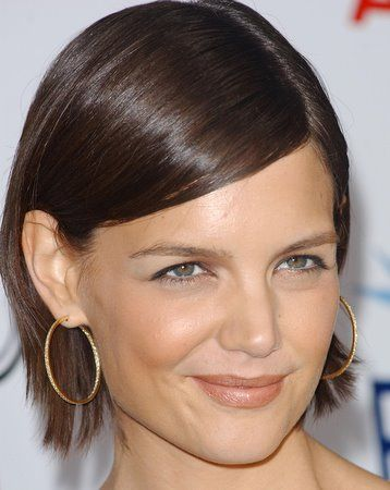 Hair Behind The Ear My Fave Katie Holmes Hair Katie Holmes Hair Pictures