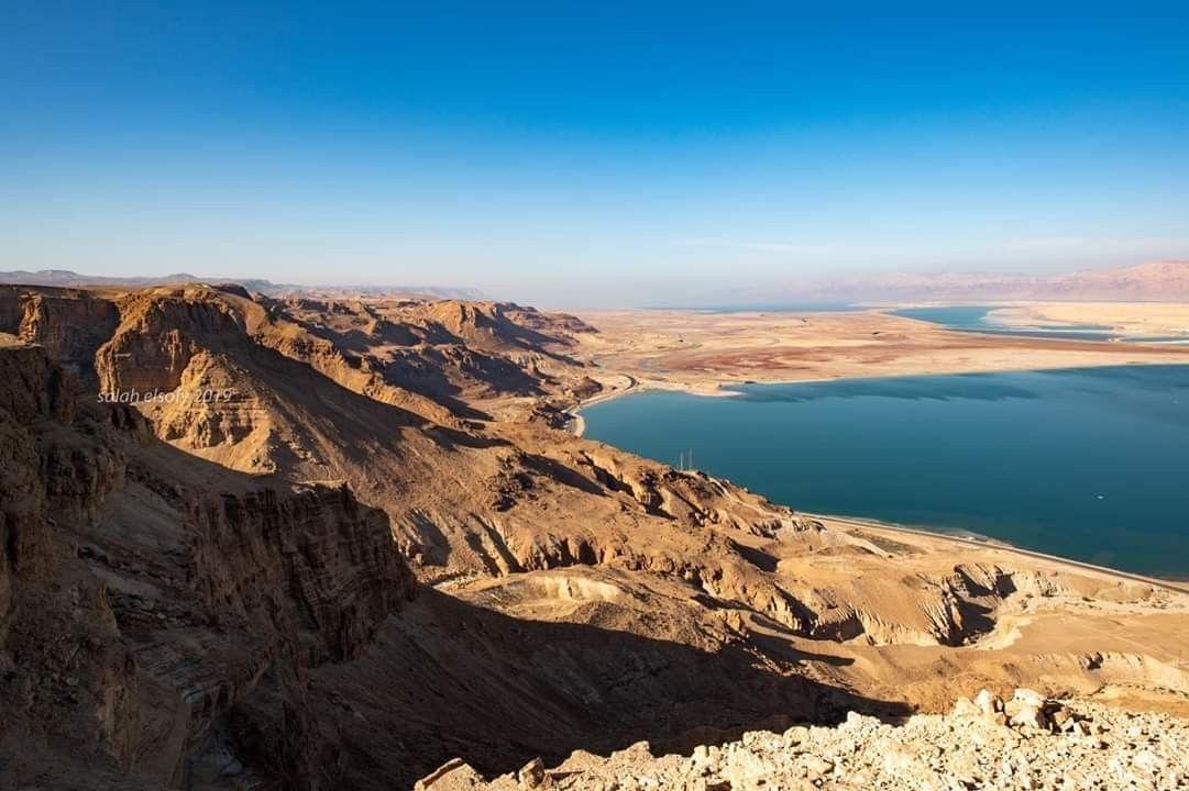 صورة جمال الطبيعة في منطقة البحر الميت في أريحا المحتلة تصوير صلاح الصوفي Natural Landmarks Trip Nature