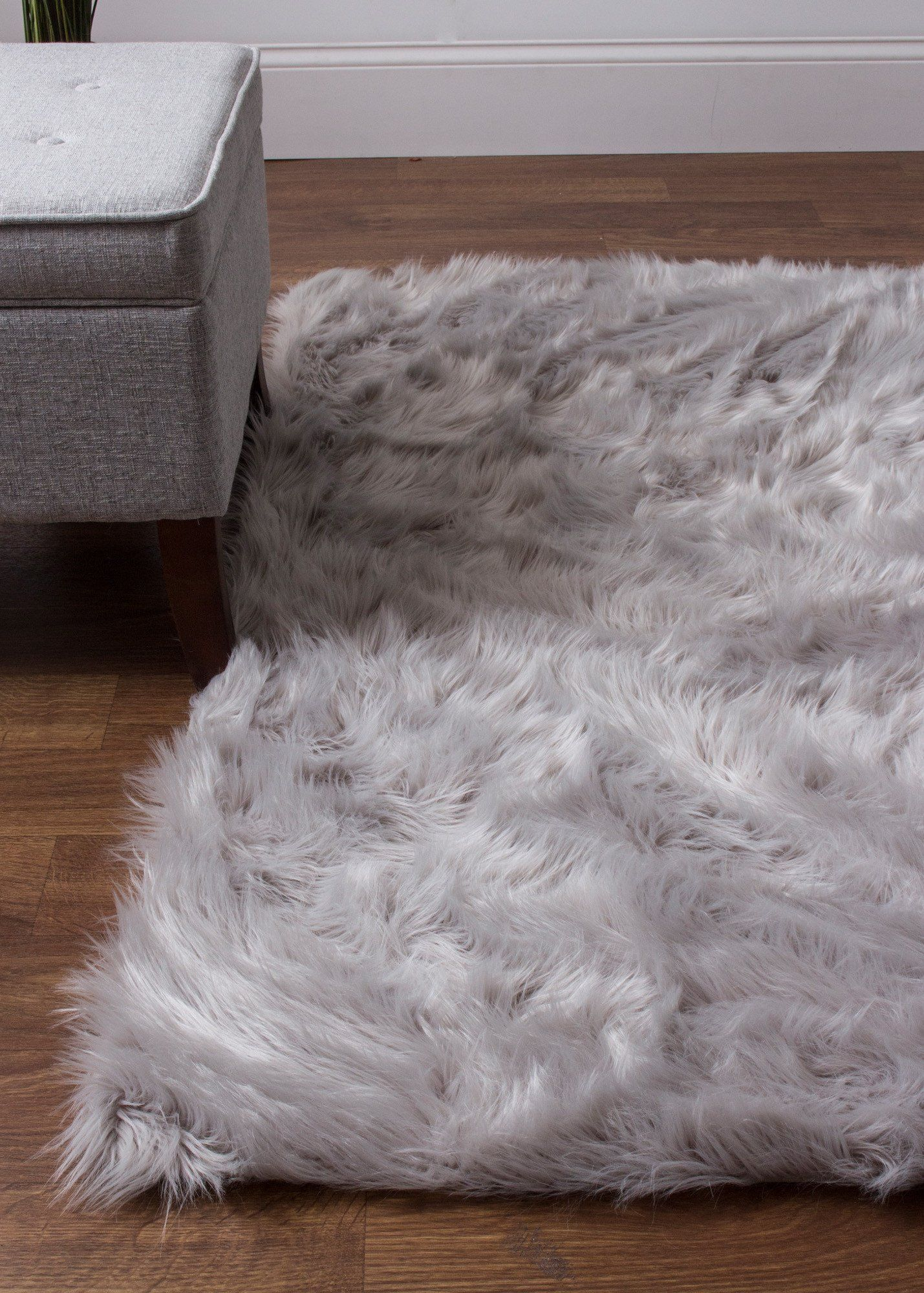 serene faux soft sheepskin rug gray | products | pinterest | rugs