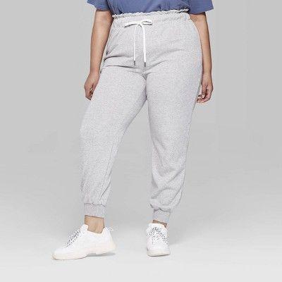 d3e222ce1ba13 Women s Plus Size Lurex Sweatpants - Wild Fable Gray 4X in 2019 ...