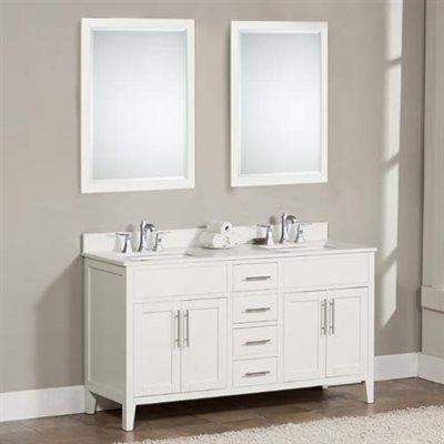 TidalBath LDN Linden 61-in Bathroom Vanity *Vanities u003e Bathroom