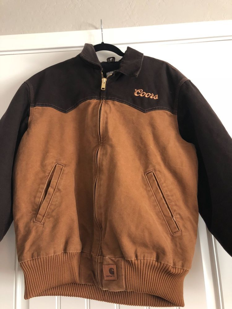 Coors rodeo Carhartt jacket  fashion  clothing  shoes  accessories  vintage   mensvintageclothing (ebay link) 2c9a9c7a52d