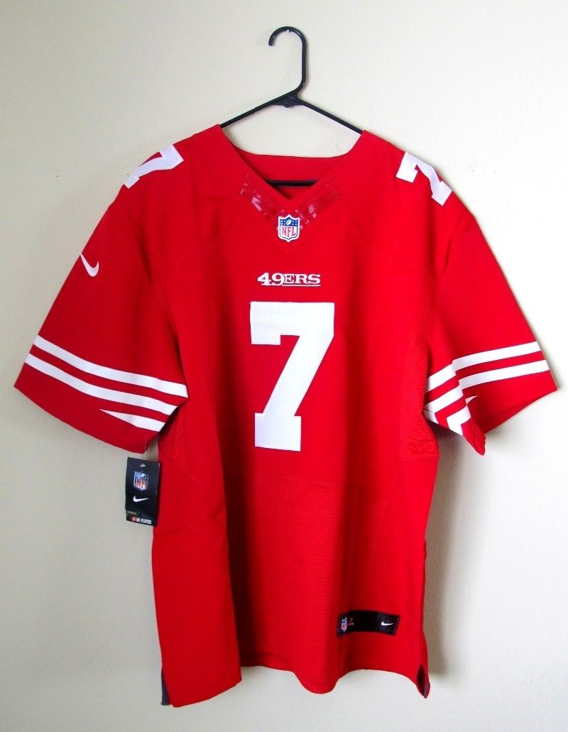 low priced ceedb c1ae7 San Francisco 49ers Colin Kaepernick On Field Stitched ...