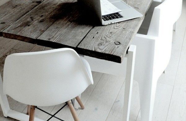 Designer Esszimmermöbel esszimmer möbel skandinavisches design holz esszimmertisch mit