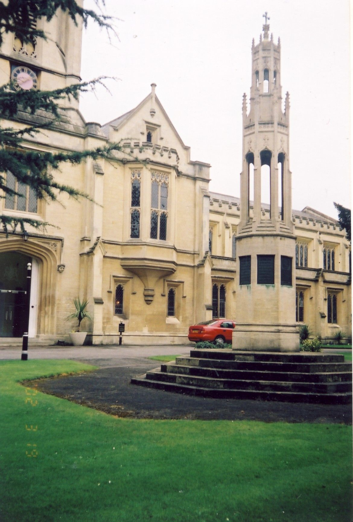 Cheltenham College Boer War Memorial (2002)
