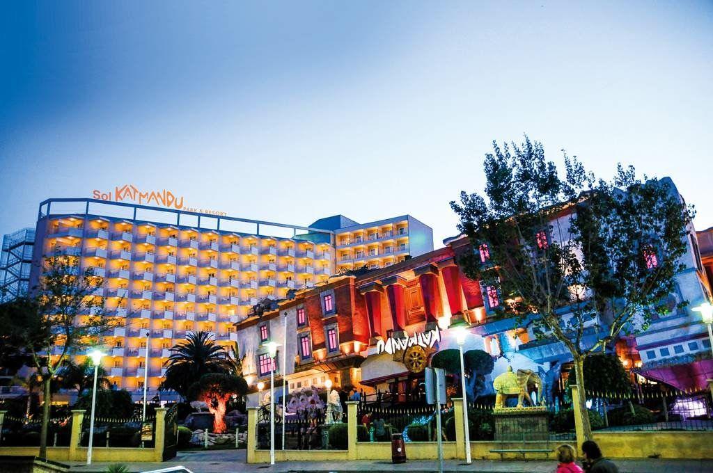 Sol Katmandu Park And Resort Magaluf Majorca Spain Majorca Canary Islands Balearic Islands